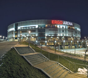 Ergo Arena sportowym obiektem roku 2011