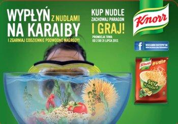 Wypłyń na Karaiby z nudlami Knorr!