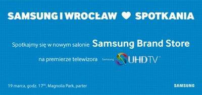 Samsung otwiera Brand Store we Wrocławiu