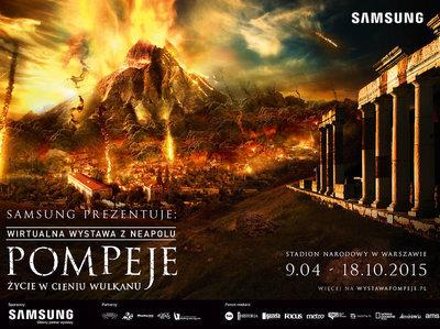 """Samsung głównym partnerem wystawy """"Pompeje. Życie w cieniu wulkanu."""""""