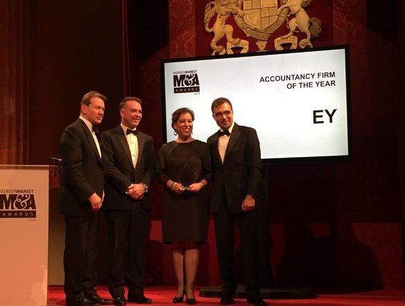 Praktyka Doradztwa Transakcyjnego (TAS) EY kolejny raz nagrodzona tytułem Firmy Doradczej Roku w Europie