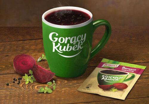 Gorący Kubek Knorr w nowej odsłonie - ten sam doskonały smak bez dodatku glutaminianu sodu