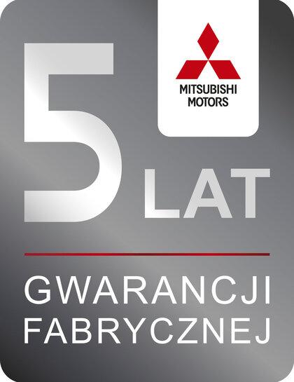 5-letnia gwarancja fabryczna Mitsubishi Motors w Europie!