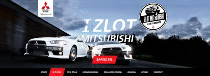 Ruszyła strona I Zlotu Mitsubishi