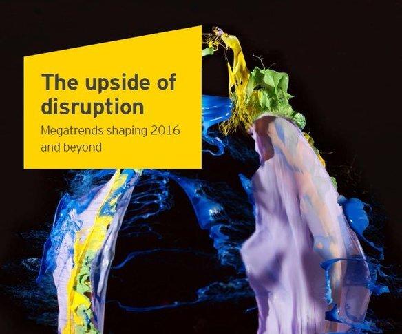 """Raport EY: """"Pozytywna strona przełomowych innowacji. Megatrendy, które kształtują 2016 rok i kolejne lata"""" identyfikuje 8 trendów, które spowodują rewolucyjne zmiany na świecie"""