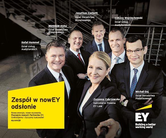 Nowi partnerzy w EY Polska