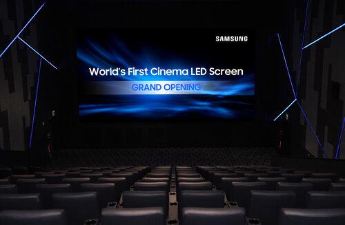 Samsung prezentuje pierwszą salę kinową wyposażoną w ekran LED