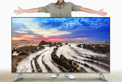 Wielkie, coraz większe ekrany telewizorów