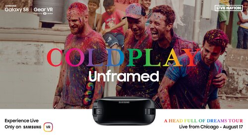 Samsung i Live Nation prezentują: Koncert Coldplay w wirtualnej rzeczywistości