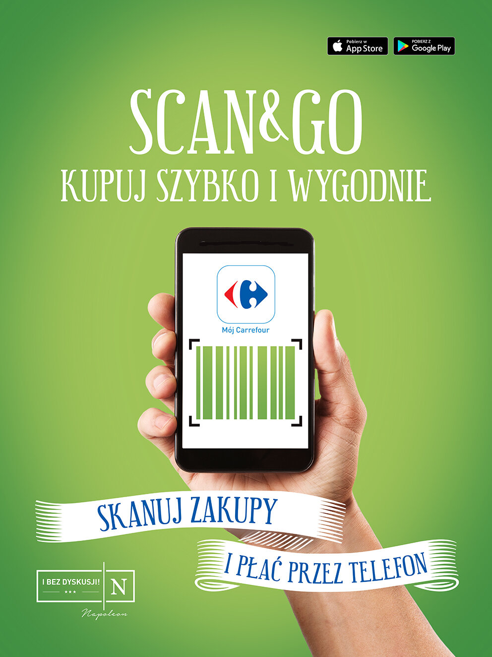 "1539bca40ba5e Płatności mobilne ""Scan&Go"" w sklepach Carrefour | Centrum prasowe Carrefour  Polska"