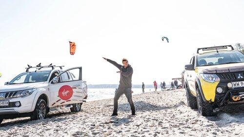 Victor Borsuk ustanowił rekord świata z Mitsubishi L200 - niezwykłe filmy!