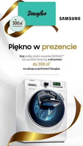 Piękno w prezencie – nowa promocja marki Samsung i bon na zakupy w perfumerii Douglas