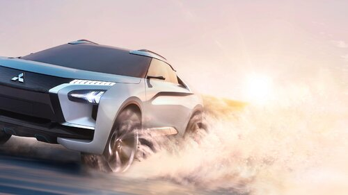 Mitsubishi prezentuje światu e-Evolution Concept