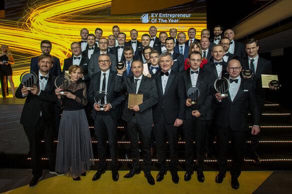Piotr Krupa, prezes KRUK S.A., zwycięzcą 15. edycji konkursu EY Przedsiębiorca Roku