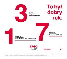 ERGO Hestia podsumowuje: To był dobry rok