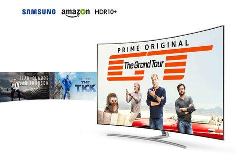 Samsung i Amazon Prime Video wprowadzają standard HDR10+