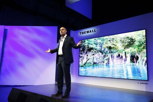 """Samsung The Wall: pierwszy na świecie modułowy telewizor MicroLED o przekątnej 146"""""""