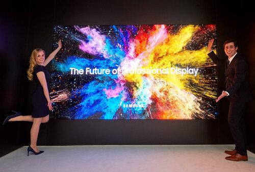 ISE 2018: Samsung The Wall Professional, czyli nowy atrakcyjny sposób na przekaz reklamowy