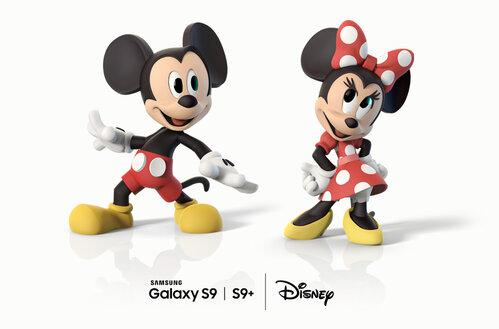 Samsung i Disney tworzą wyjątkowe Emoji AR dla Galaxy S9 i S9+