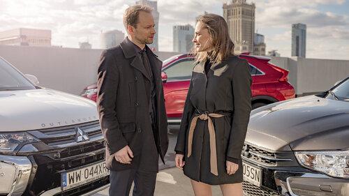 Anna Cieślak i Maciej Stuhr planują dalszy ciąg przygód z Mitsubishi