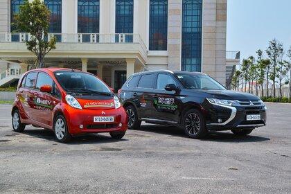 Mitsubishi wprowadza pojazdy elektryczne i PHEV w Wietnamie