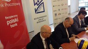 Bank Pocztowy i Klub Sportowy Pałac Bydgoszcz chcą ponownie wspólnie osiągać sukcesy