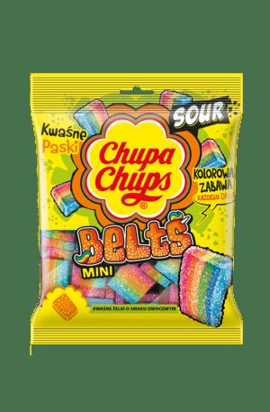 Chupa Chups Kwaśne Paski i Kwaśne Rurki, czyli smaki na lato