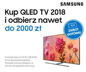 Kup Samsung QLED TV i odbierz nawet do 2000 złotych zwrotu