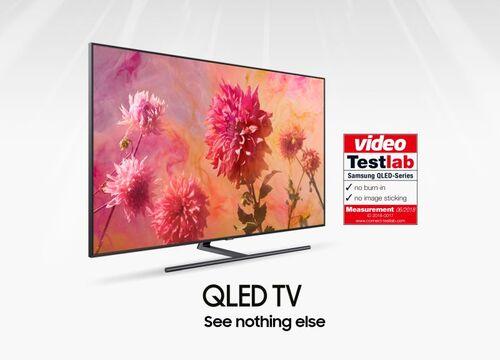 Certyfikat Testlab potwierdza brak efektu wypalenia w telewizorach Samsung QLED