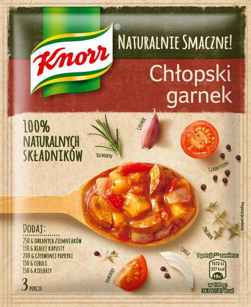 Co w garnku piszczy? Nowości z linii Naturalnie Smaczne! Knorr