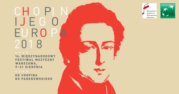 """Bank BGŻ BNP Paribas i Fundacja BGŻ BNP Paribas wśród sponsorów XIV Międzynarodowego Festiwalu Muzycznego """"Chopin i jego Europa. Od Chopina do Paderewskiego"""""""