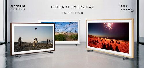 Zdjęcia z ekskluzywnej kolekcji Magnum Photos dostępne na telewizorze Samsung The Frame