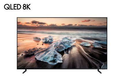 Firma Samsung prezentuje telewizor QLED 8K z technologią sztucznej inteligencji