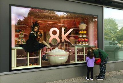 Niezwykła kampania w przestrzeni miejskiej z okazji premiery telewizora QLED 8K