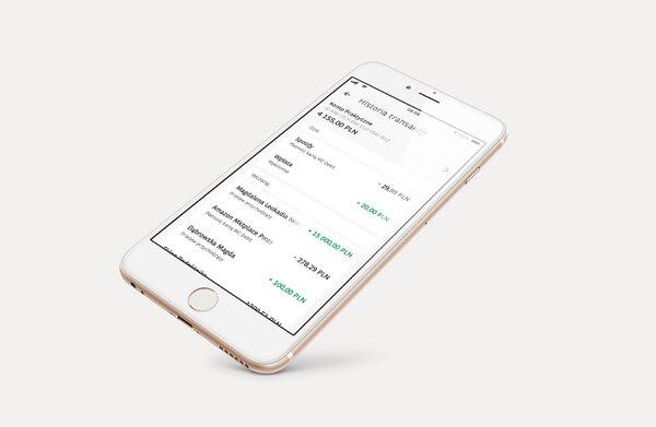Skróty do ważnych funkcji, nowa historia operacji i szybki kredyt gotówkowy. BGŻ BNP Paribas dodaje nowe funkcje do aplikacji GOmobile