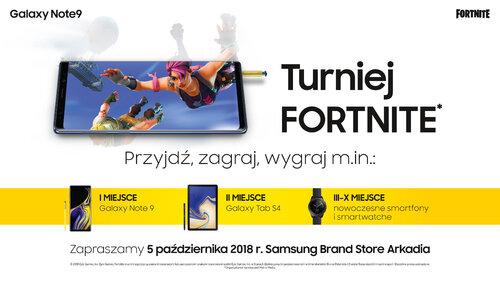 Samsung zaprasza na Fortnite Challenge w CH Arkadia