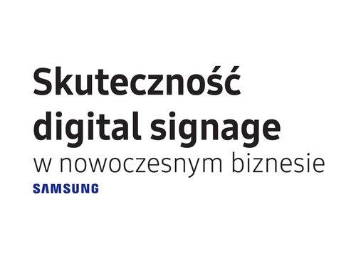 Ekrany Digital Signage wpływają na podejmowanie decyzji zakupowych