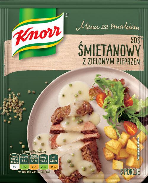 NOWOŚĆ! Nowe sosy suche Knorr – przywitaj Boże Narodzenie ze smakiem