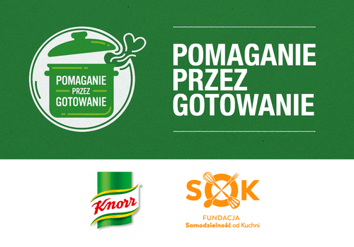 Pomaganie przez gotowanie - Knorr i Fundacja Samodzielność od Kuchni we wspólnej akcji dla wychowanków domów dziecka