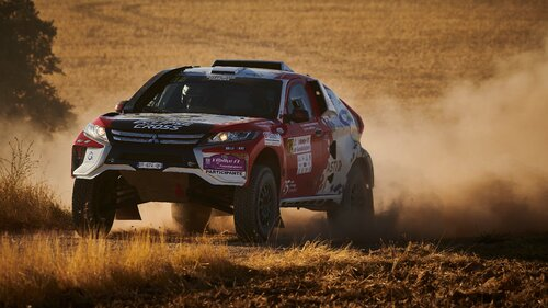 Mitsubishi Eclipse Cross startuje w rajdzie Dakar 2019