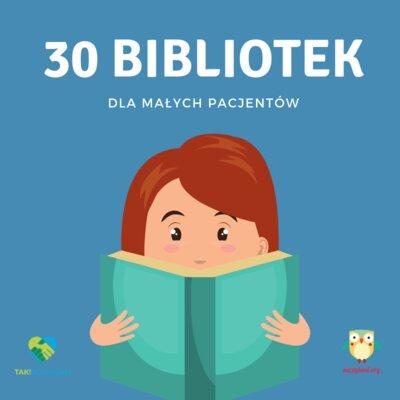 Plan zrealizowany -  30 Zaczytanych Bibliotek Providenta i Fundacji Zaczytani.org