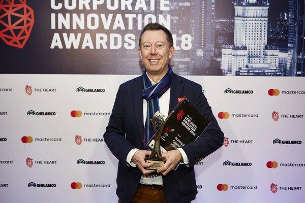 Przemek Gdański z nagrodą CEO of the Year