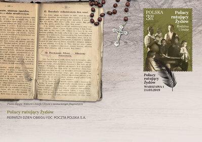 Poczta Polska upamiętnia Polaków ratujących Żydów w czasie II wojny światowej wystawą i emisjami filatelistycznymi