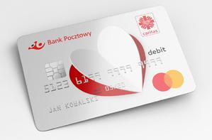 Pomagasz jak nigdy, płacąc jak zawsze – Bank Pocztowy, Mastercard i Caritas Polska wydają wspólną kartę ułatwiającą pomoc potrzebującym