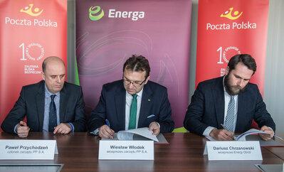 Poczta Polska i Energa rozwijają elektromobilność