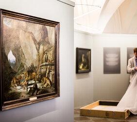 """Wystawa """"Natura i duchowość"""" w Muzeum Narodowym w Gdańsku wzbogacona o kolejne dzieło"""