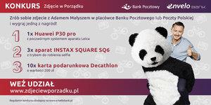 """Wystartował konkurs """"Zdjęcie w Porządku"""" z Adamem Małyszem i Klientami Banku w rolach głównych"""