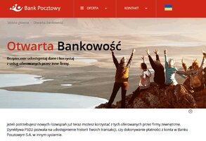 Bank Pocztowy rozpoczął uruchamianie otwartej bankowości zgodnie z PSD2