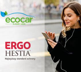 Hybrydowa taksówka EcoCar zamiast pojazdu zastępczego