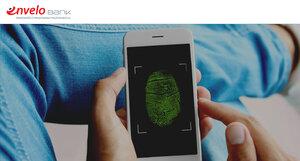 Do aplikacji EnveloBanku zalogujesz się odciskiem palca